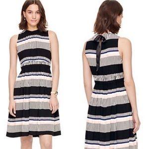Kate Spade Bay Stripe Tie Back Dress